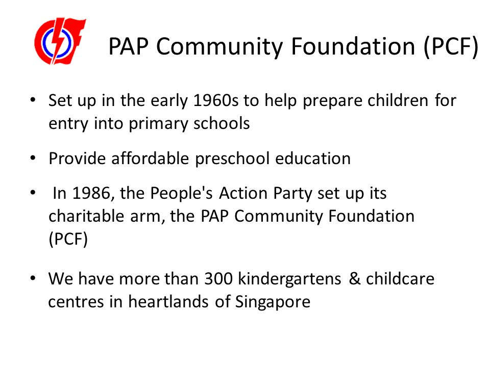 PAP Community Foundation (PCF)
