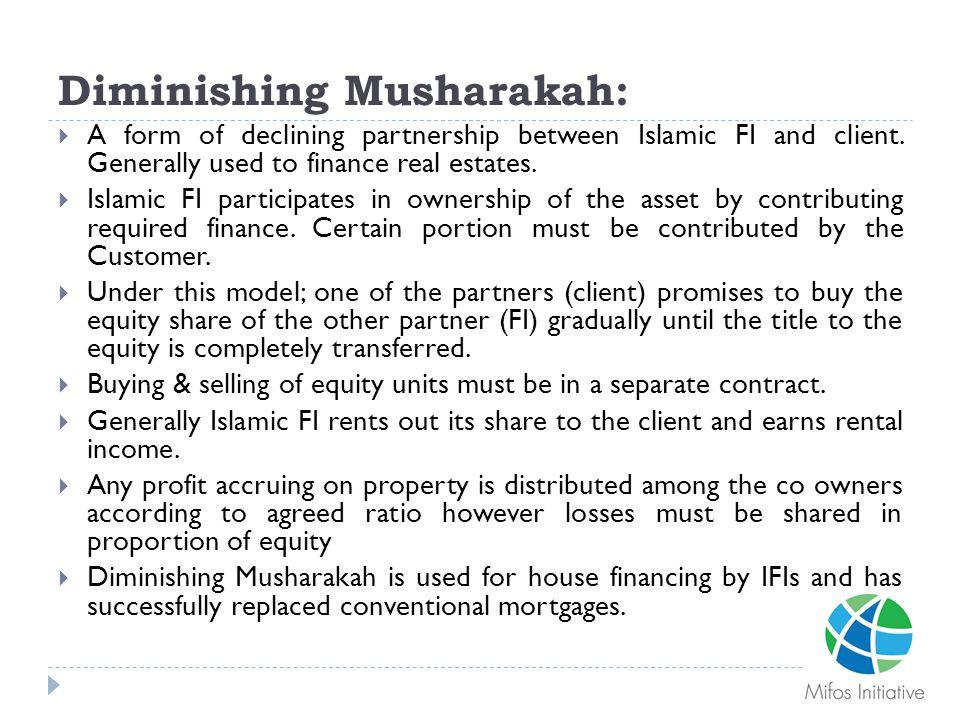 Diminishing Musharakah: