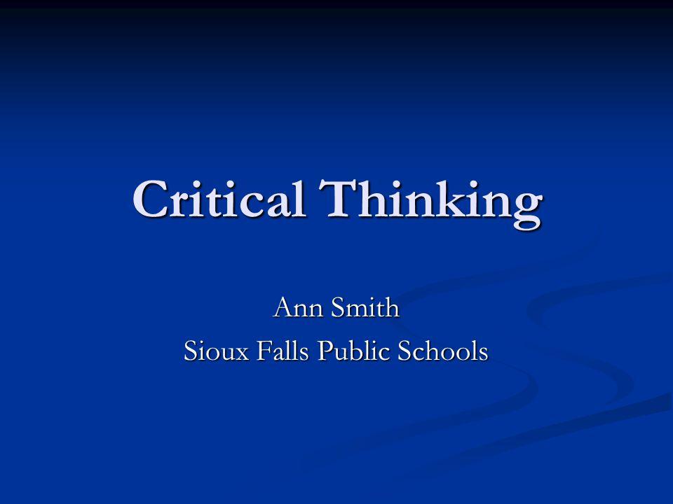 Ann Smith Sioux Falls Public Schools