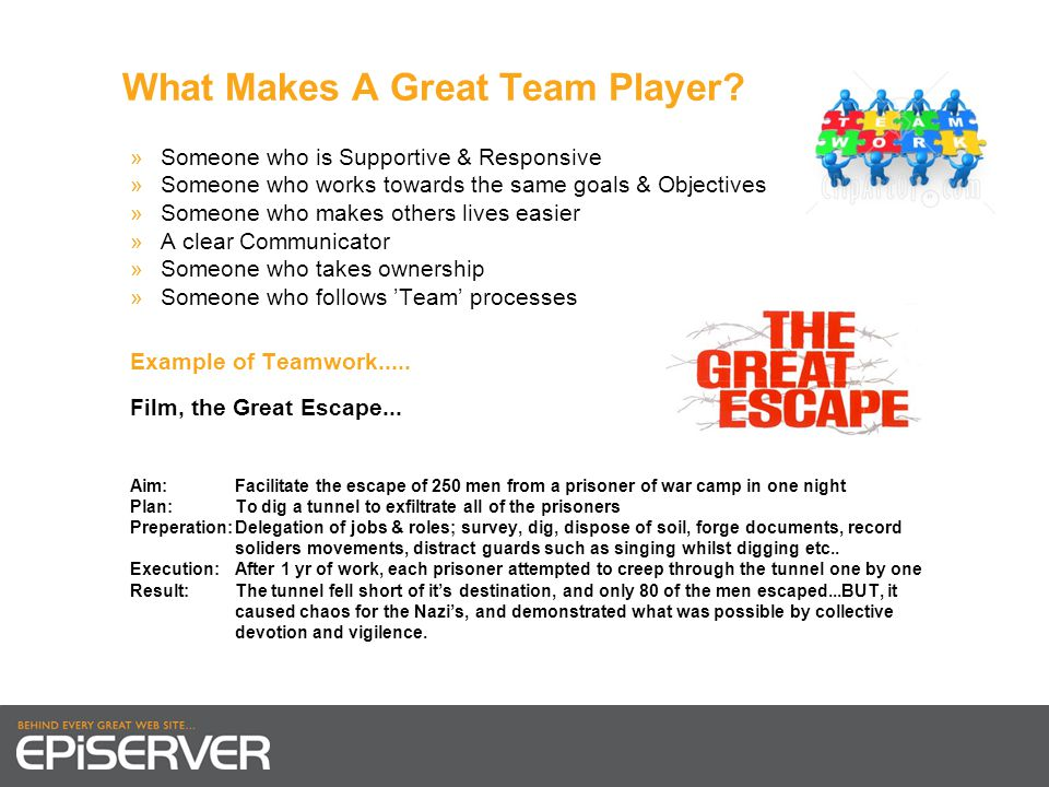What Makes A Great Team Player