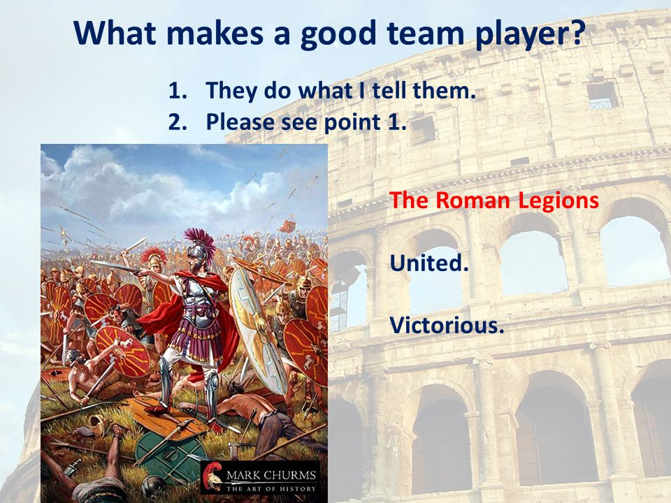 What makes a good team player