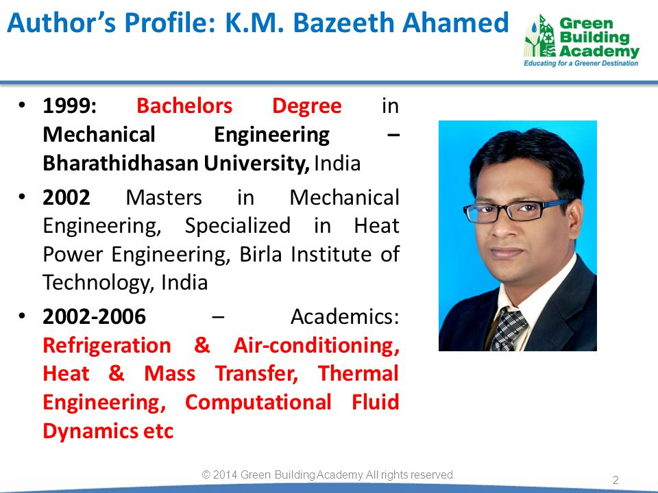 Author's Profile: K.M. Bazeeth Ahamed