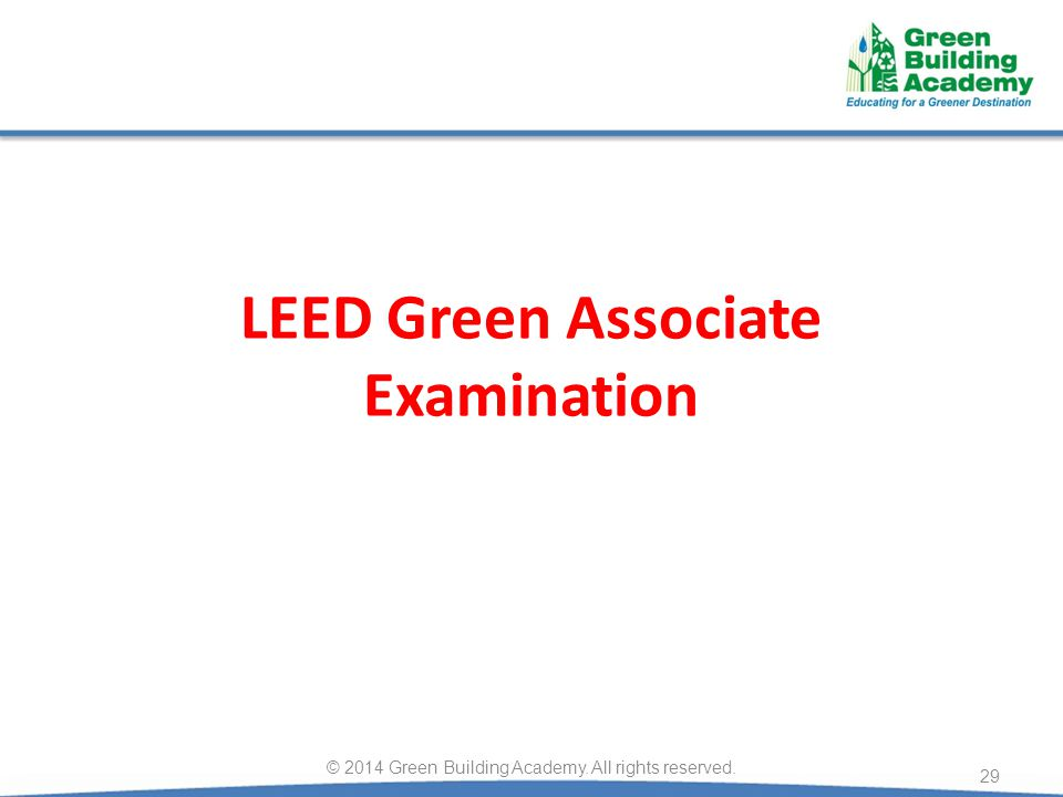 LEED Green Associate Examination