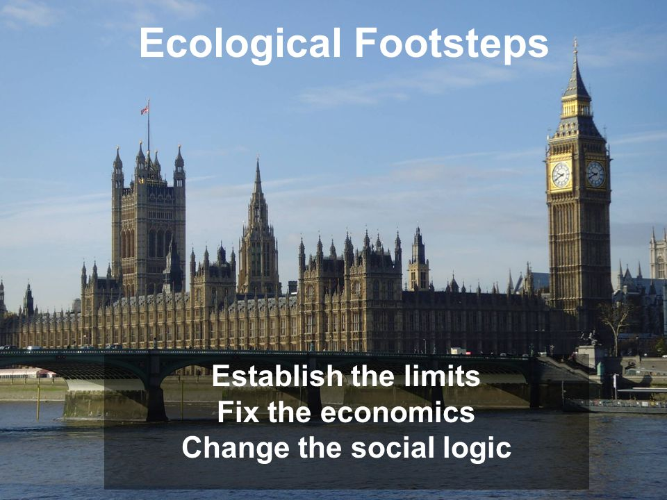 Change the social logic