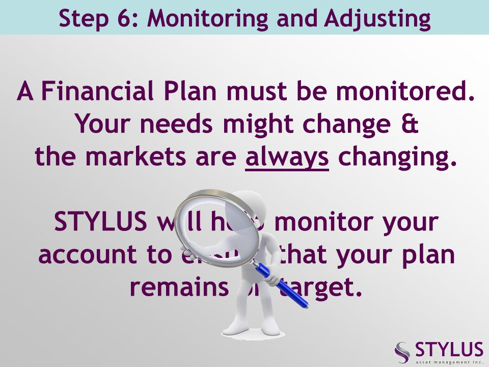 Step 6: Monitoring and Adjusting