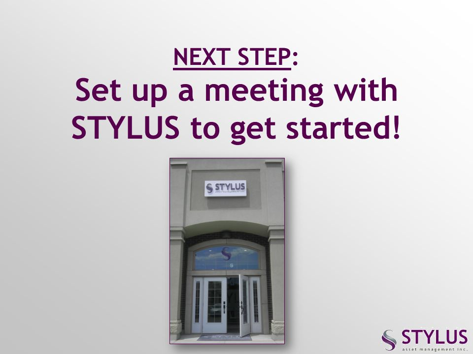 Set up a meeting with STYLUS to get started!