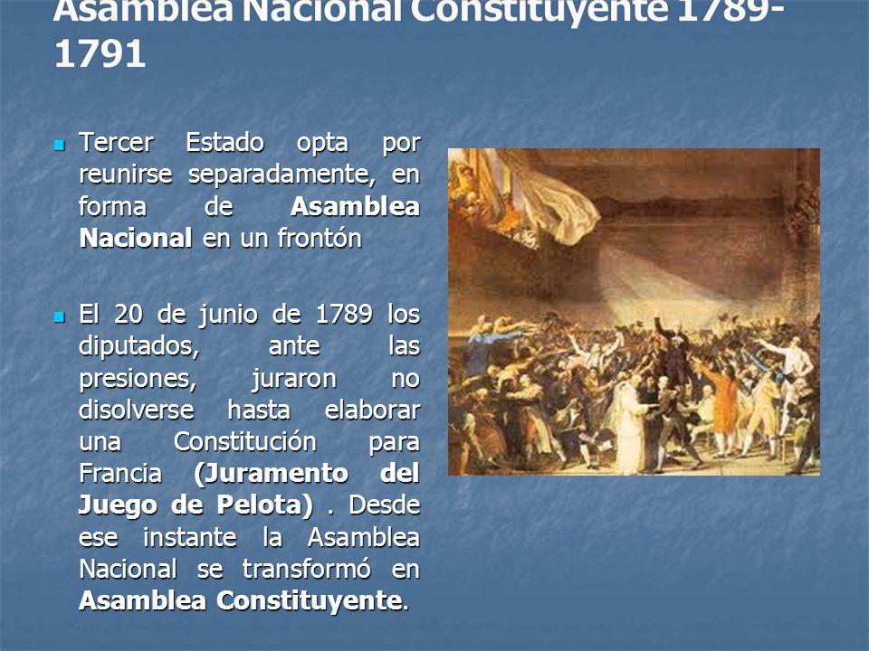 Asamblea Nacional Constituyente 1789-1791