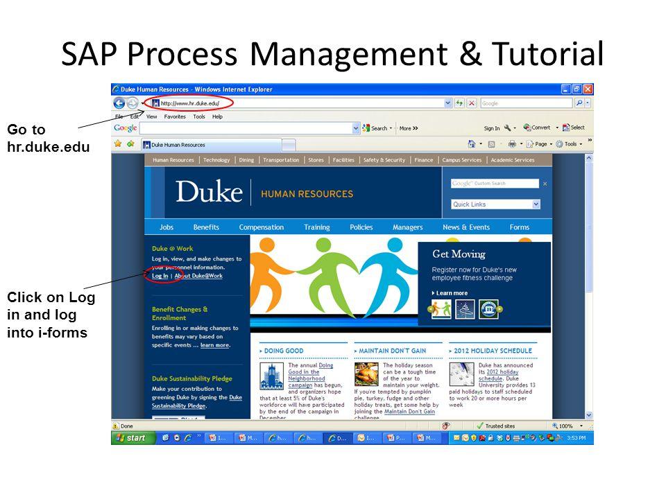 SAP Process Management & Tutorial