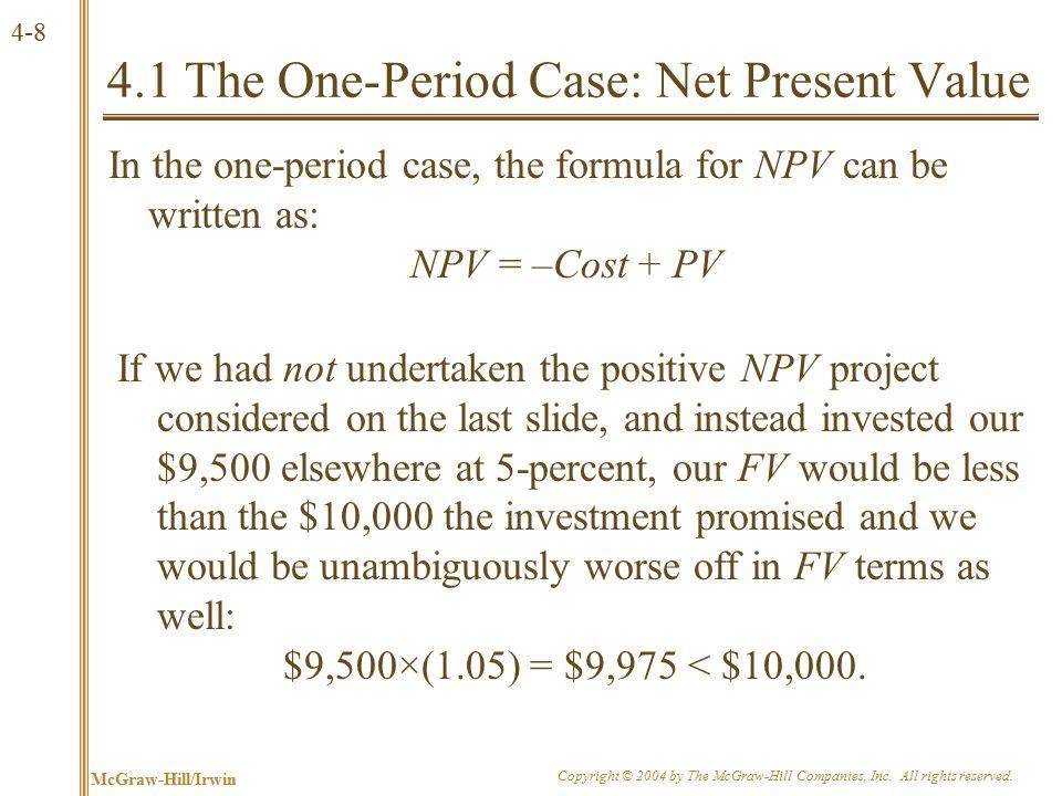 4.2 The Multiperiod Case: Future Value