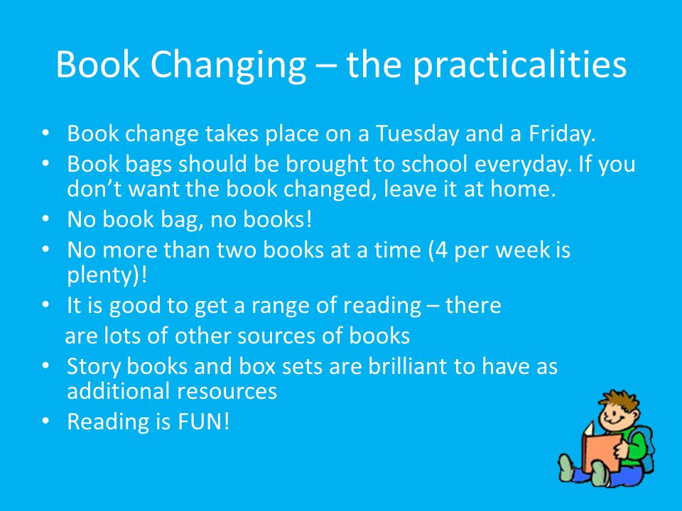 Book Changing – the practicalities