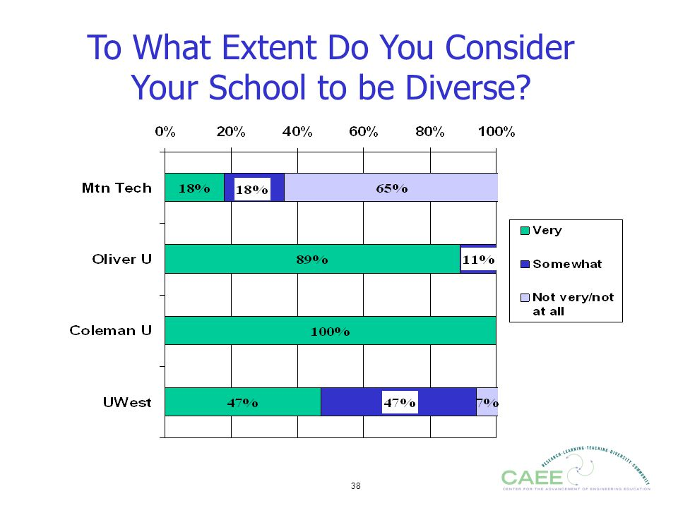 To What Extent Do You Consider Your School to be Diverse