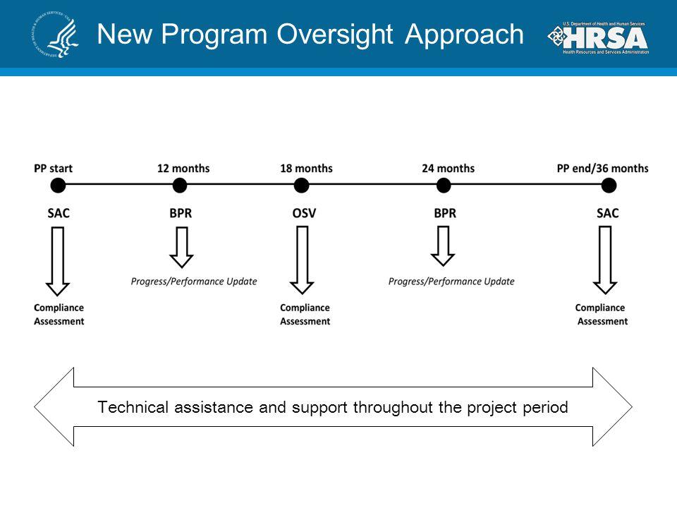 New Program Oversight Approach