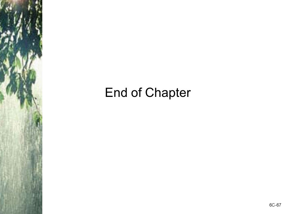 End of Chapter 6C-67