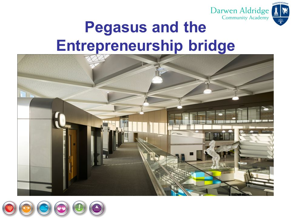 Pegasus and the Entrepreneurship bridge