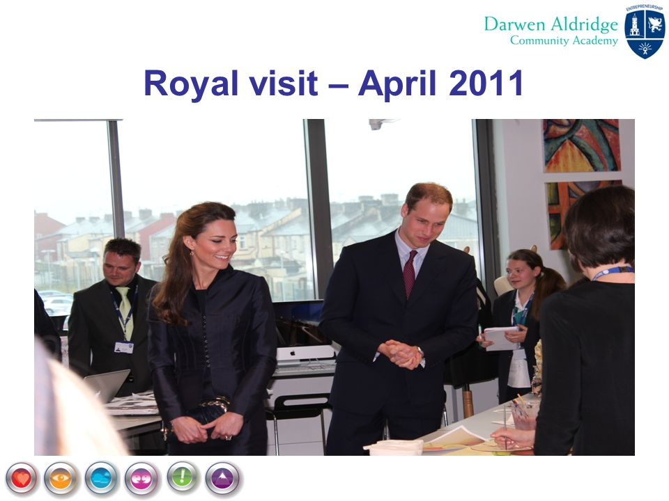 Royal visit – April 2011