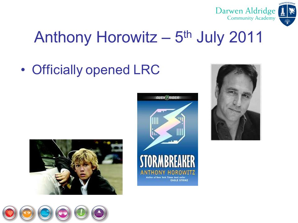 Anthony Horowitz – 5th July 2011