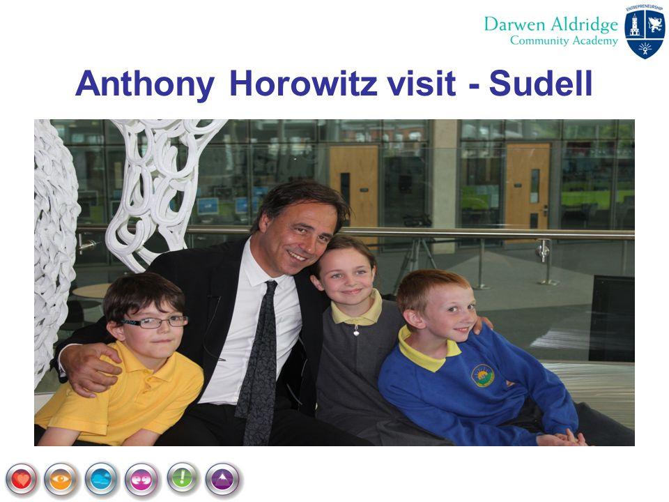 Anthony Horowitz visit - Sudell