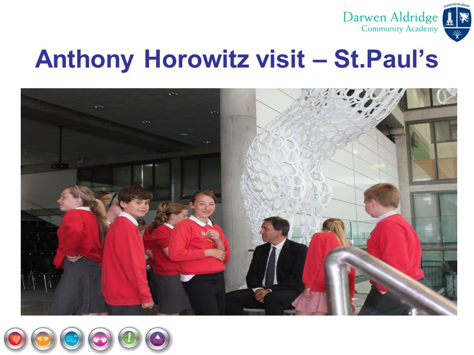 Anthony Horowitz visit – St.Paul's