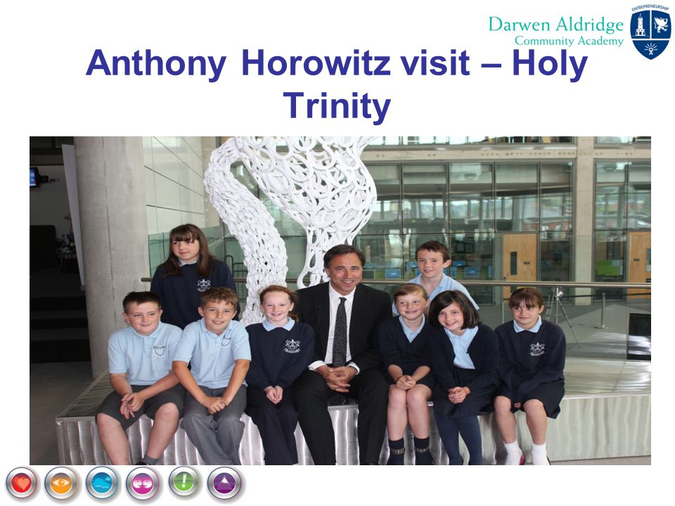 Anthony Horowitz visit – Holy Trinity
