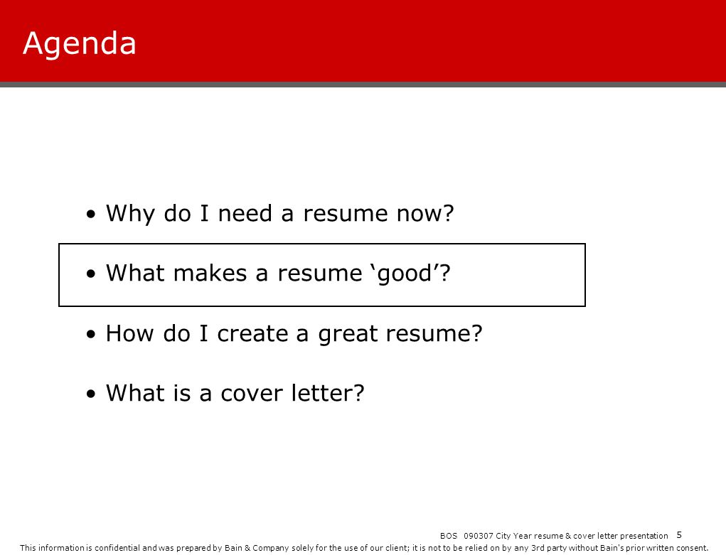 City year resume workshop ppt download agenda why do i need a resume now what makes a resume good madrichimfo Gallery
