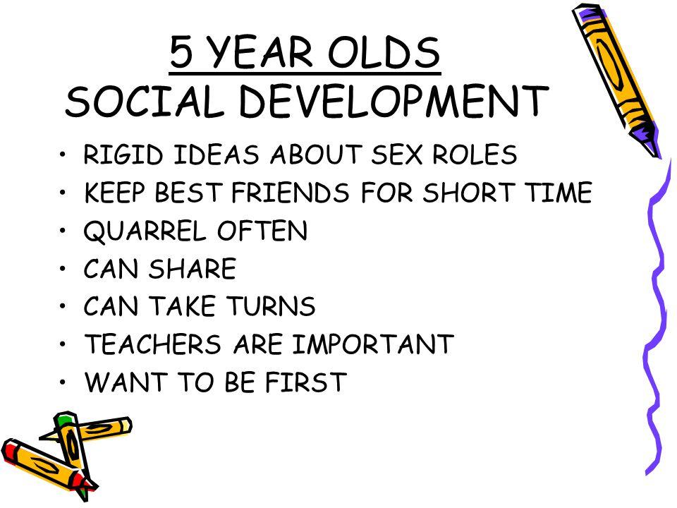 5 YEAR OLDS SOCIAL DEVELOPMENT