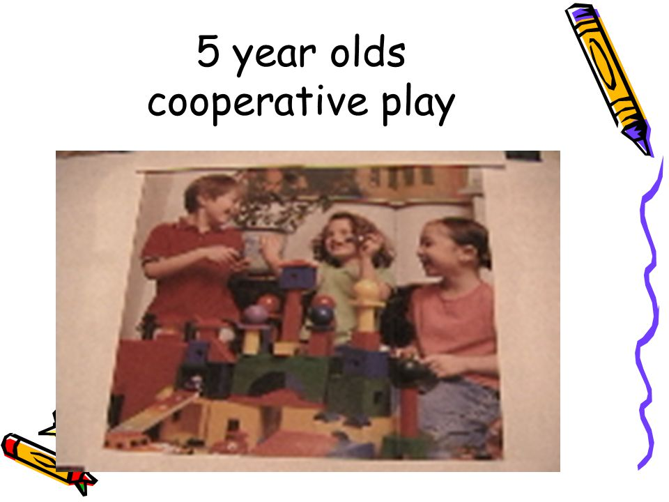 5 year olds cooperative play