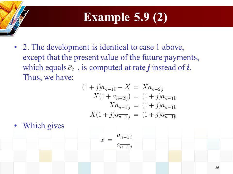Example 5.9 (2)
