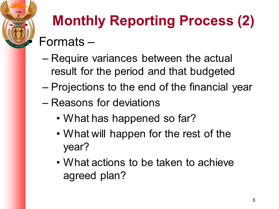Monthly Reporting Process (2)