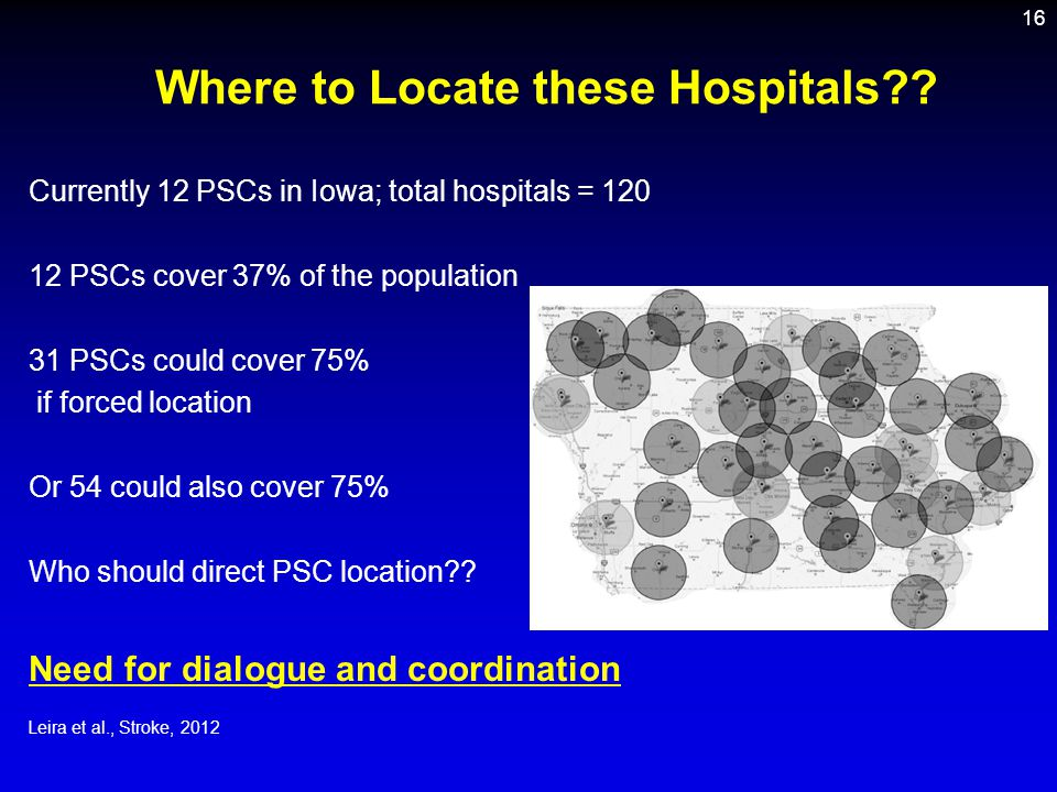 Where to Locate these Hospitals