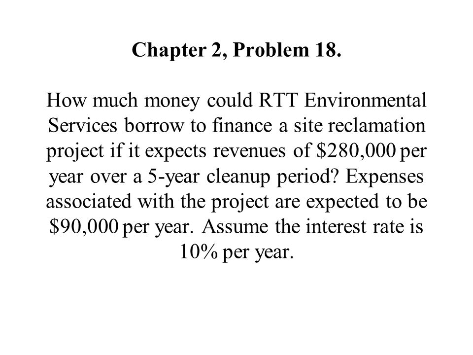 Chapter 2, Problem 18.