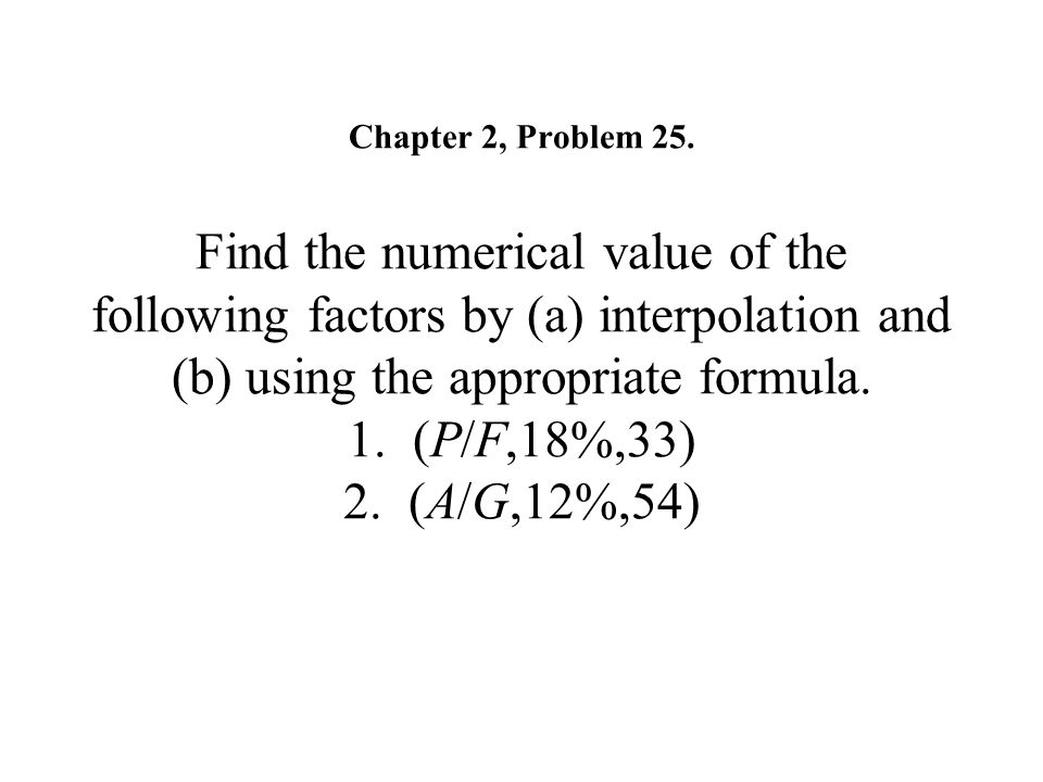 Chapter 2, Problem 25.