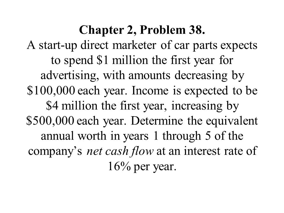 Chapter 2, Problem 38.
