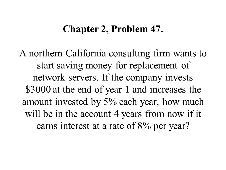 Chapter 2, Problem 47.