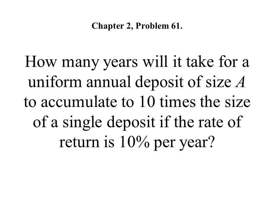 Chapter 2, Problem 61.