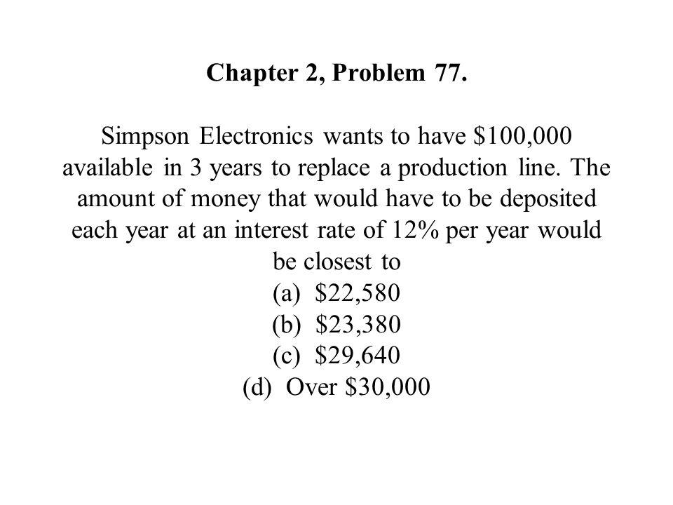 Chapter 2, Problem 77.