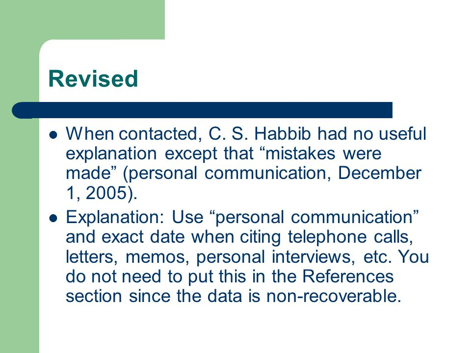 Revised When contacted, C. S. Habbib had no useful explanation except that mistakes were made (personal communication, December 1, 2005).