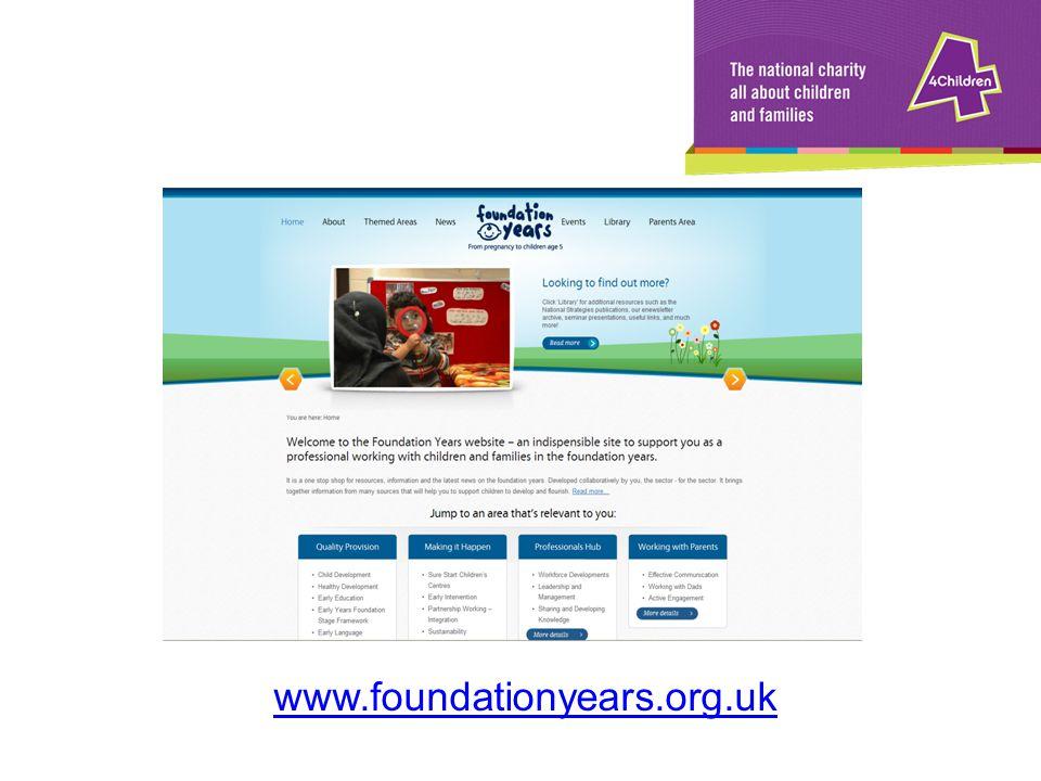 www.foundationyears.org.uk