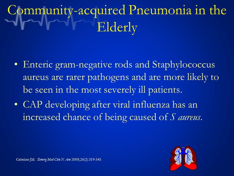 Community-acquired Pneumonia in the Elderly