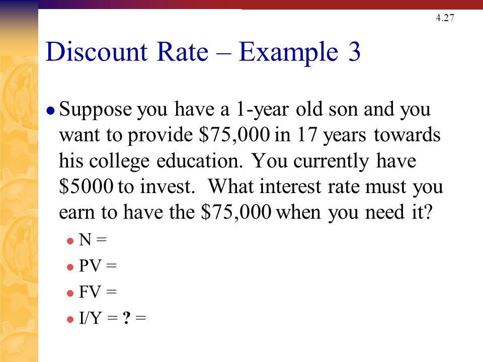Quick Quiz – Part 3 What are some situations where you might want to compute the implied interest rate