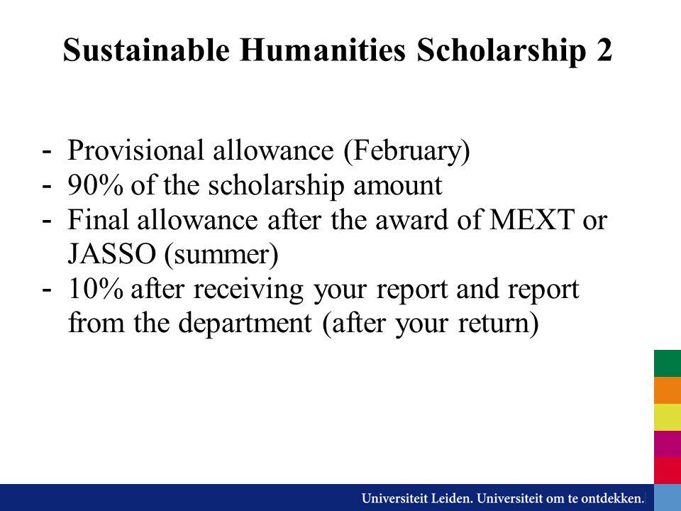 Sustainable Humanities Scholarship 2