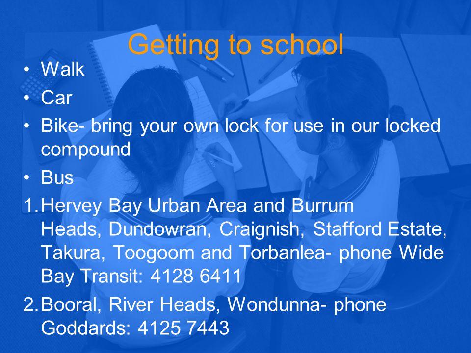 Getting to school - Walk Car