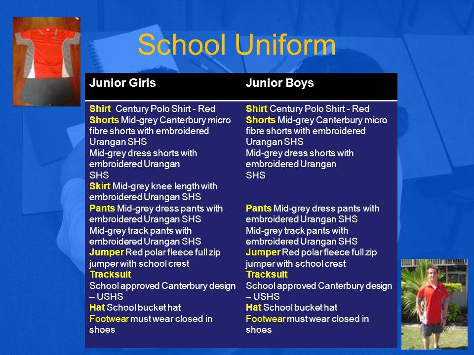 School Uniform Junior Girls Junior Boys Shirt Century Polo Shirt - Red