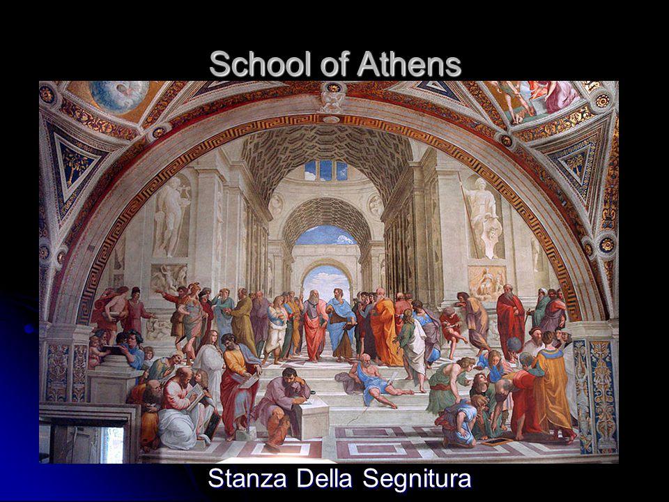 School of Athens Stanza Della Segnitura