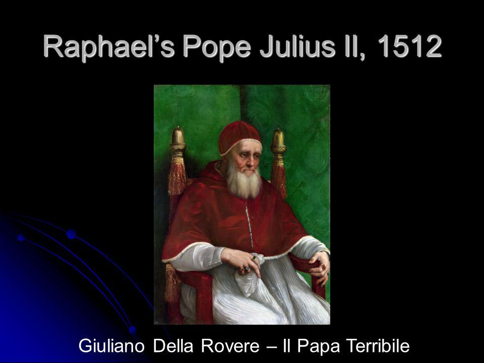 Raphael's Pope Julius II, 1512