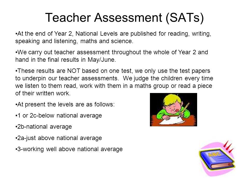 Teacher Assessment (SATs)