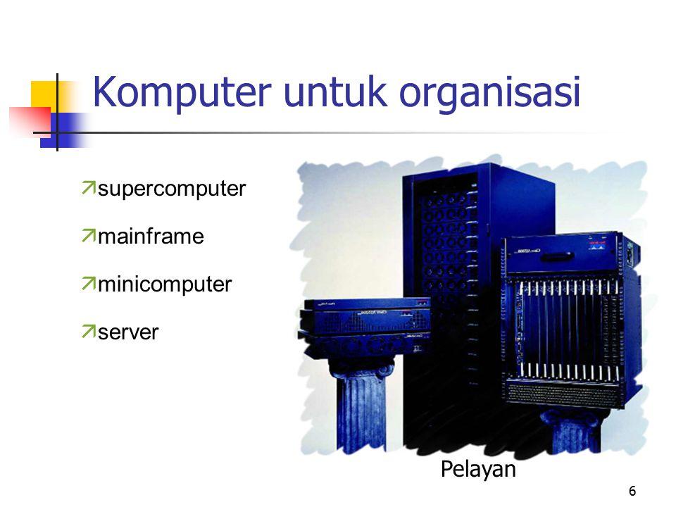 Komputer untuk organisasi