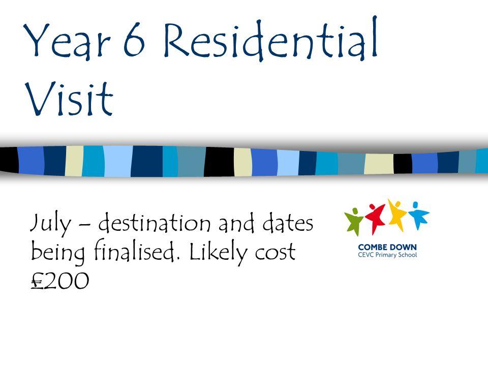 Year 6 Residential Visit