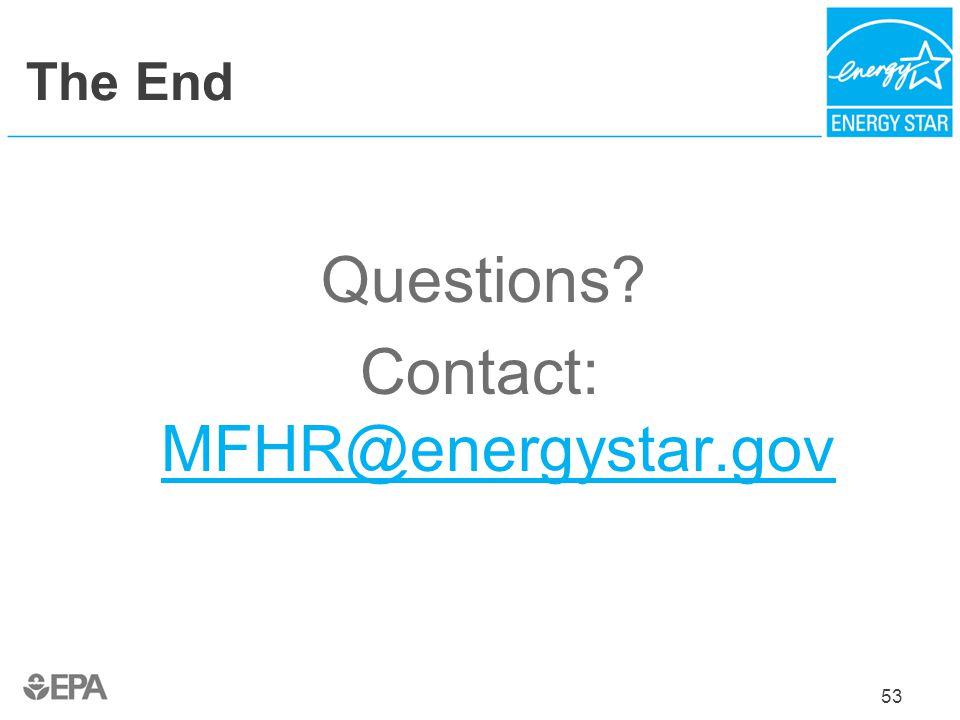 Contact: MFHR@energystar.gov