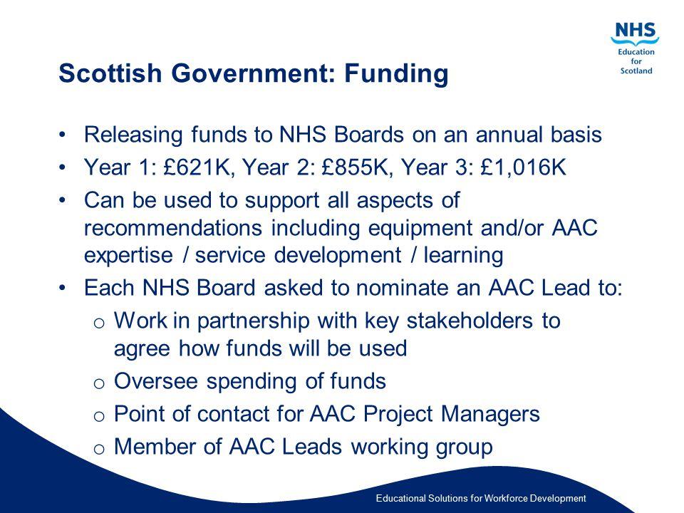 Scottish Government: Funding