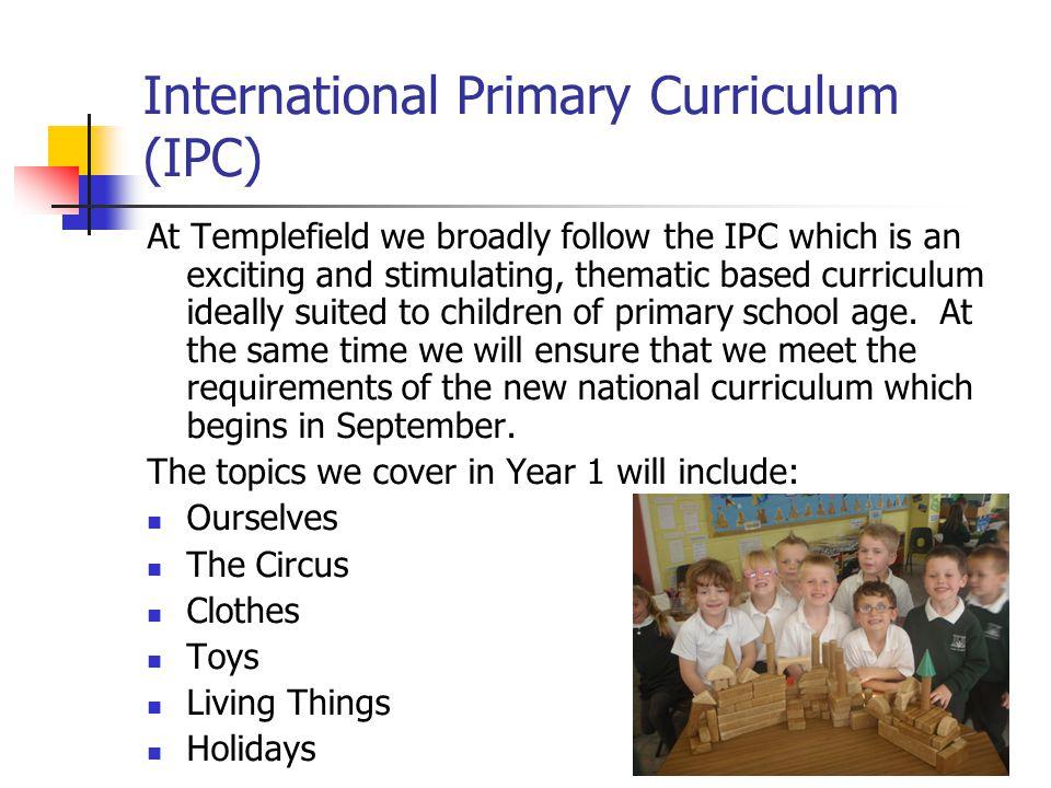 International Primary Curriculum (IPC)